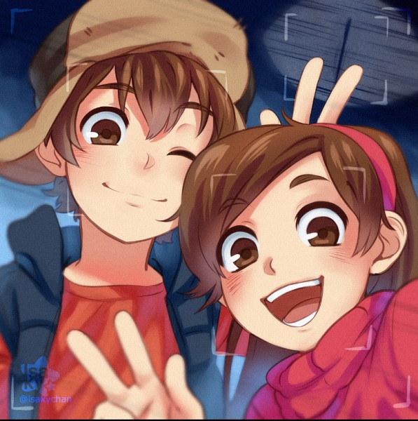 Tags: Anime, Pixiv Id 2340622, Gravity Falls, Mabel Pines, Dipper Pines