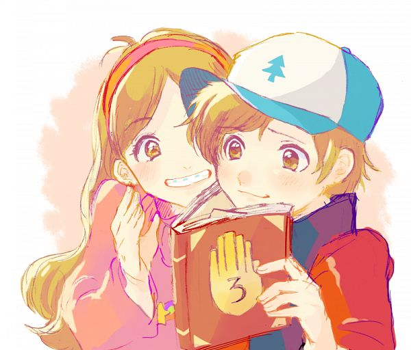 Tags: Anime, Pixiv Id 999160, Gravity Falls, Dipper Pines, Mabel Pines, Journal