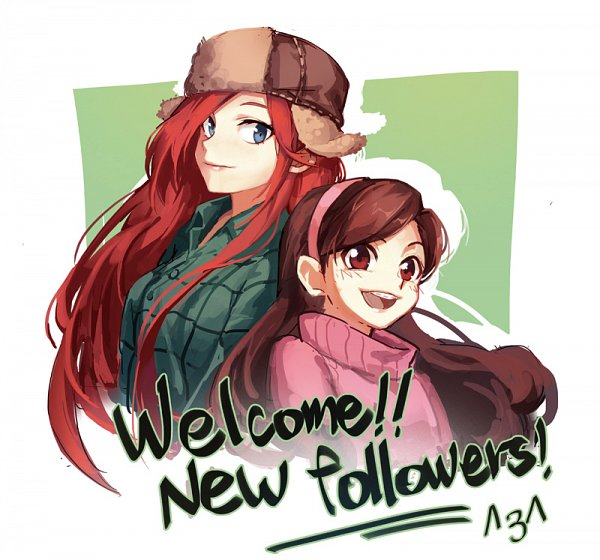 Tags: Anime, Soulnightwish, Gravity Falls, Wendy Corduroy, Mabel Pines