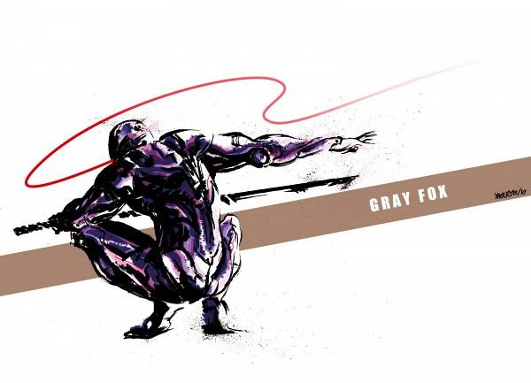 Tags: Anime, KONAMI (Studio), Metal Gear Solid, Gray Fox, Mechanic, Ninja Cyborg, Cybernetic