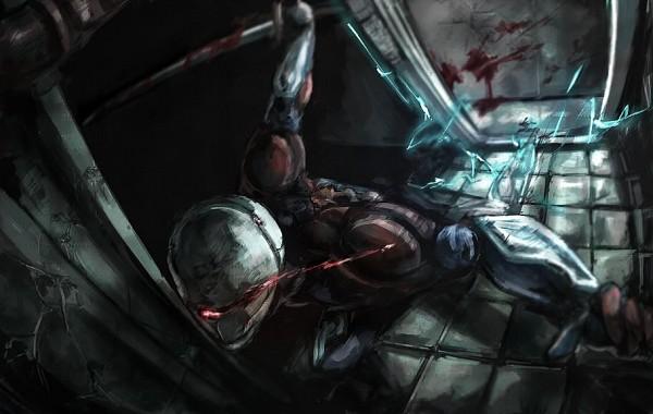 Tags: Anime, Metal Gear Solid, Gray Fox, Cyborg Ninja, Cybernetic, Mechanic, Fanart