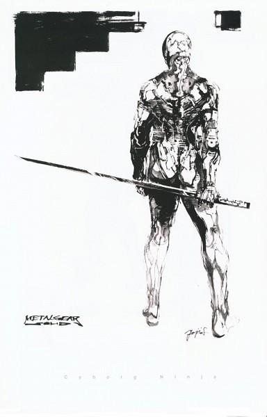Tags: Anime, KONAMI (Studio), Metal Gear Solid, Gray Fox, Mechanic, Cybernetic