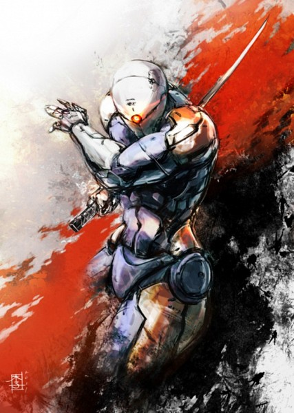 Tags: Anime, KONAMI (Studio), Metal Gear Solid, Gray Fox, Mechanic, Ninja Cyborg, Cybernetic, Mobile Wallpaper