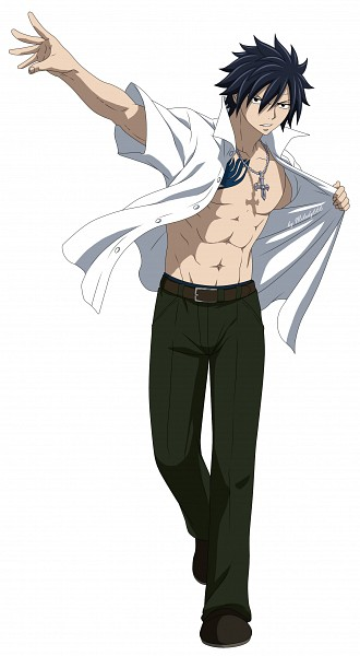 Tags: Anime, Milady666, FAIRY TAIL, Gray Fullbuster, Gray Fullsexy, Mobile Wallpaper