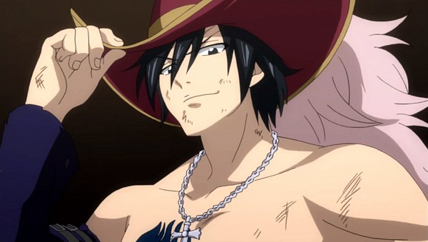 Tags: Anime, FAIRY TAIL, Gray Fullbuster, Screenshot, Facebook Cover