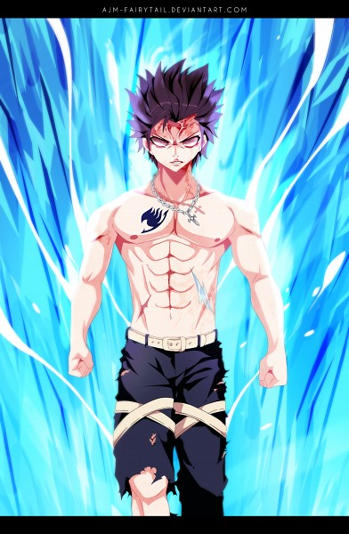 Tags: Anime, AJM-FairyTail, FAIRY TAIL, Gray Fullbuster, Colorization, deviantART, Mobile Wallpaper