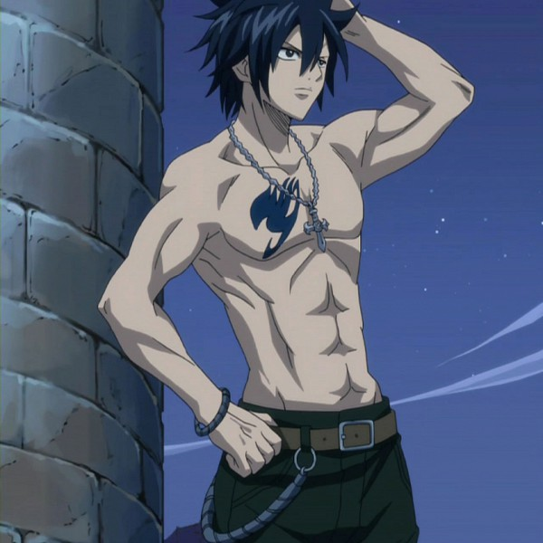 Tags: Anime, FAIRY TAIL, Gray Fullbuster, Chest, Sorcerer, Gray Fullsexy, Screenshot