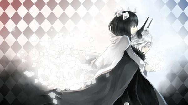 Tags: Anime, Pixiv Id 3325404, Gray Garden, Kcalb (Gray Garden), Etihw, Wallpaper, Facebook Cover, Pixiv, The Gray Garden