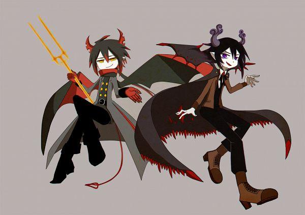 Tags: Anime, Pixiv Id 4695783, Gray Garden, Satanick, Ivlis (Gray Garden), Fanart, Fanart From Pixiv, Deep-Sea Prisoner, Pixiv, The Gray Garden