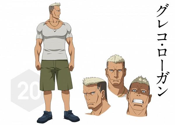 Greco Logan - Gundam Build Fighters