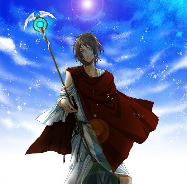 Tags: Anime, Yomi (Pixiv390297), Axis Powers: Hetalia, Greece, Toga, Pixiv, Fanart, Heracles Karpusi