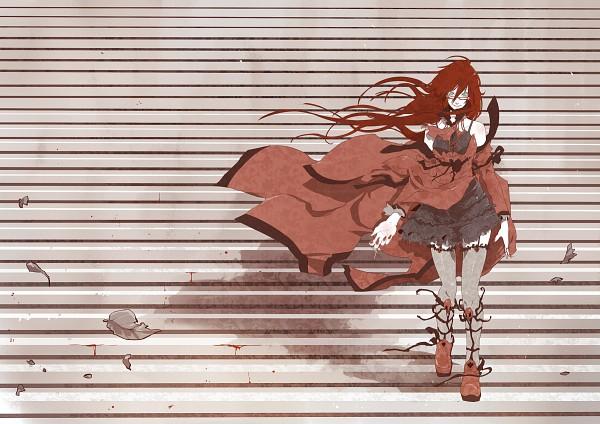 Tags: Anime, Ian Olympia, SQUARE ENIX, Kuroshitsuji, Grell Sutcliff, Fanart, deviantART