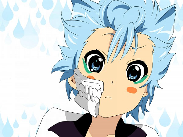 Tags: Anime, Pixiv Id 2179610, BLEACH, Grimmjow Jeagerjaques, K-ON! Character Design, Pixiv, Fanart, Wallpaper, Espada