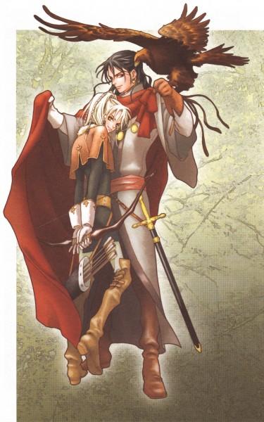 Tags: Anime, Ishiyama Keiko, Grimms Manga, Manga Color, Official Art, Scan