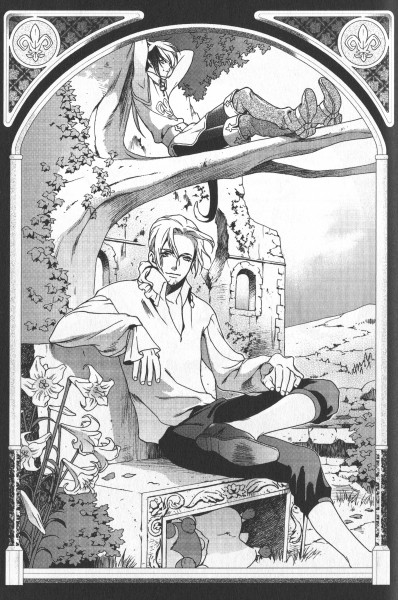 Tags: Anime, Ishiyama Keiko, Puss In Boots, Grimms Manga, Manga Page, Chapter Cover, Scan, Official Art