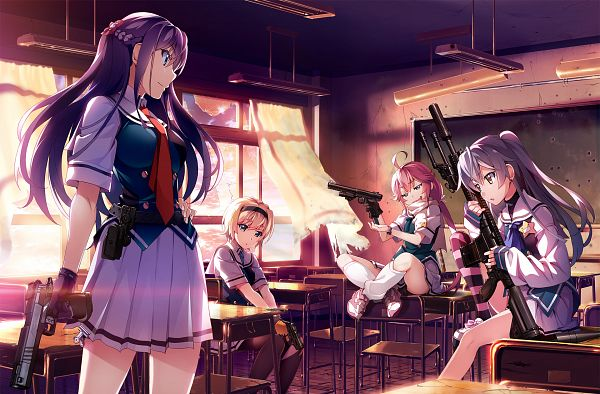 Grisaia: Phantom Trigger - Front Wing