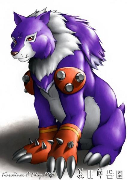 Grizzmon - Digimon Frontier