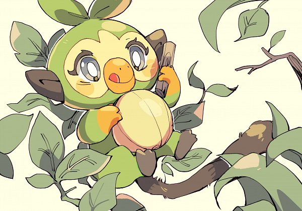Tags: Anime, Pixiv Id 3308977, Pokémon Sword & Shield, Pokémon, Grookey, Fanart, Fanart From Pixiv, Pixiv