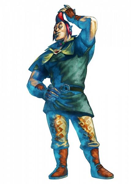 Tags: Anime, Nintendo, Zelda no Densetsu, Zelda no Densetsu: Skyward Sword, Groose, Artist Request, Official Art, Cover Image
