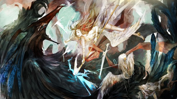 Tags: Anime, Gtako (Artist), deviantART, Pixiv, Original, Facebook Cover