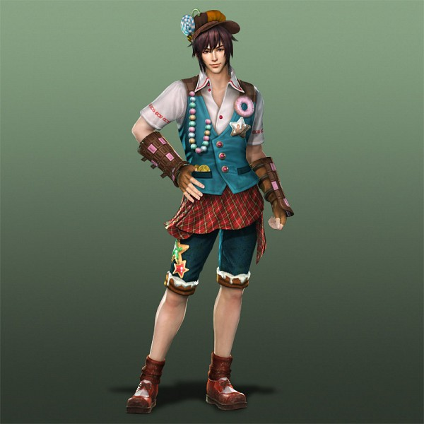Tags: Anime, Hansel and Gretel, Dynasty Warriors, Guan Suo, Hansel, Hansel (Cosplay), 3D, Official Art