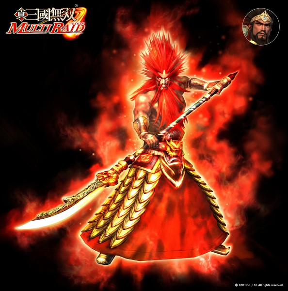 Tags: Anime, Koei, Dynasty Warriors, Guan Yu, Official Art, 3D