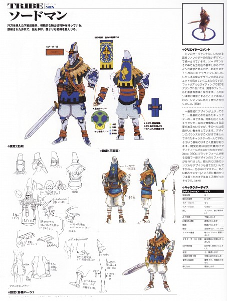 Tags: Anime, Arc System Works, Guilty Gear 2 -Overture- Material Collection, GUILTY GEAR, Official Art, Sketch, Scan