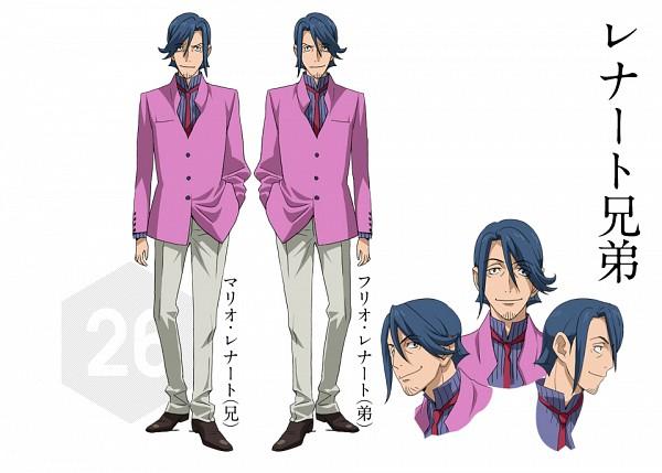Tags: Anime, Gundam Build Fighters, Mario Renato, Julio Renato, PNG Conversion, Official Art