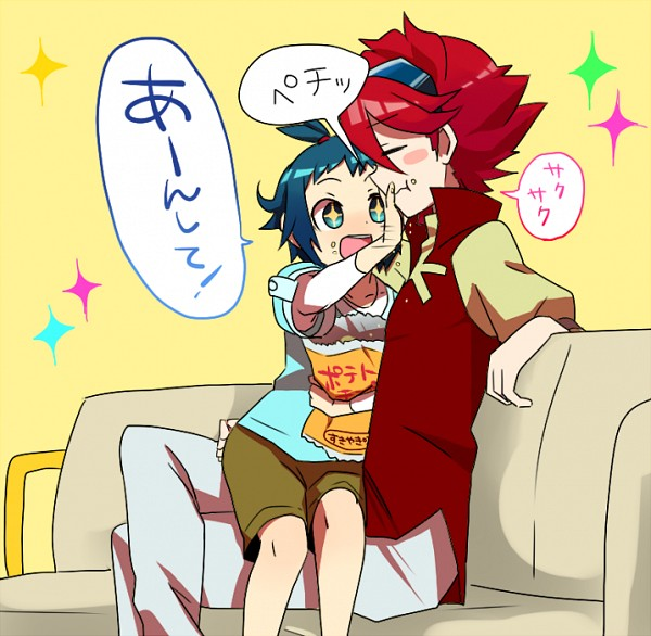 Tags: Anime, Pixiv Id 55947, Gundam Build Fighters, Iori Sei, Reiji (Gundam Build Fighters), Fanart, Fanart From Pixiv, Pixiv