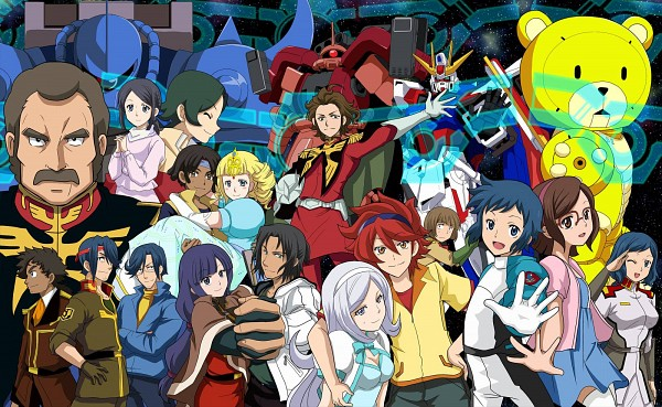 Tags: Anime, Gundam Build Fighters, Yasaka Mao (Gundam Build Fighters), Nils Nielsen, Kirara, Reiji (Gundam Build Fighters), Ricardo Fellini, Ramba Ral, Luang Dallara, Iori Sei, Sazaki Susumu, Mario Renato, Kousaka China