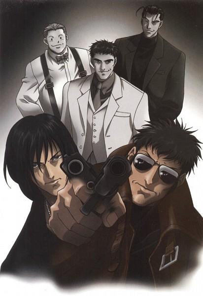 Tags: Anime, Gungrave, Harry Macdowell, Brandon Heat, Bunji Kugashira, Balladbird Lee, Bob Poundmax