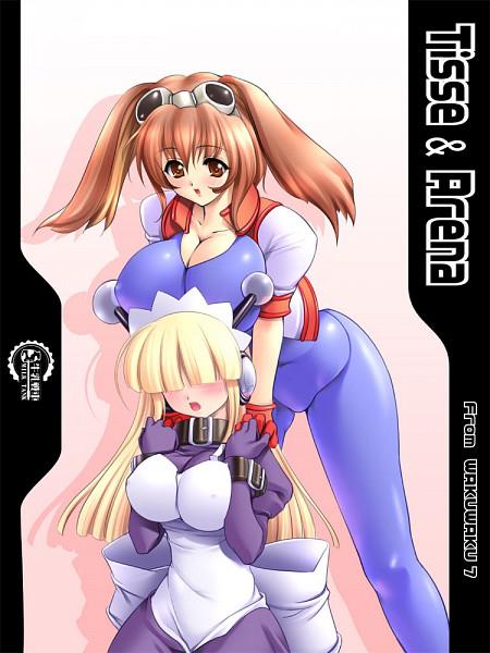 Tags: Anime, Gunner-L, Waku Waku 7, Arina Makihara, Tesse
