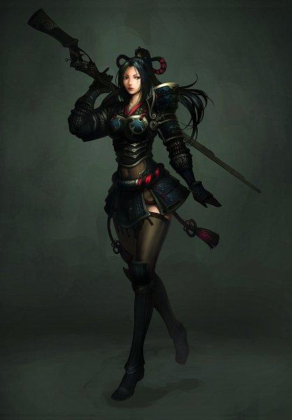 Tags: Anime, Atlantica Online, Gunner (Atlantica Online), CG Art
