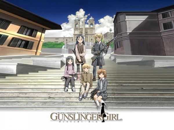 Tags: Anime, Abe Hisashi, Gunslinger Girl, Triela, Rico (Gunslinger Girl), Claes, Angelica (Gunslinger Girl), Henrietta (Gunslinger Girl)