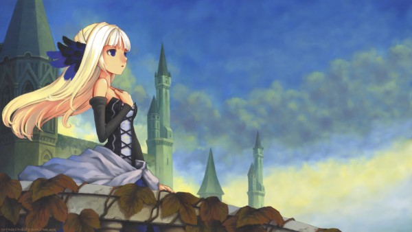 Tags: Anime, Vanillaware, Odin Sphere, Gwendolyn (Odin Sphere), HD Wallpaper, Facebook Cover, Wallpaper, Official Art