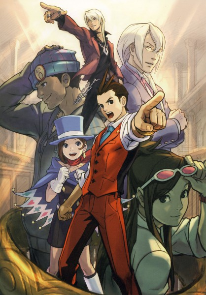 Gyakuten Saiban 4 (Apollo Justice: Ace Attorney) - Capcom