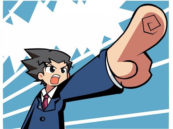 Tags: Anime, Gyakuten Saiban, Mitsurugi Reiji, Phoenix Wright: Ace Attorney