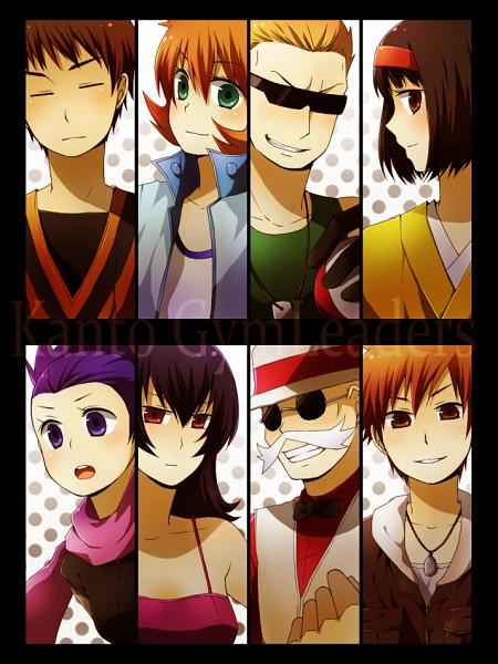 Tags: Anime, Pokémon, Katsura (Pokémon), Takeshi (Pokémon), Natsume (Pokémon), Erika (Pokémon), Anzu (Pokémon), Green (Pokémon), Matis, Kasumi (Pokémon), Gym Leader