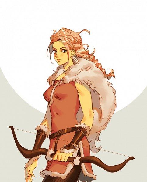Tags: Anime, Mellalyss, Octopath Traveler, H'Aanit, Fanart, Twitter