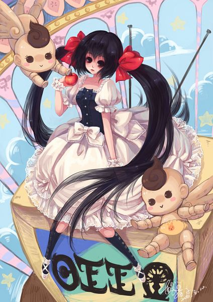 Tags: Anime, Sanmi Tenten, Mahou Shoujo Madoka☆Magica, Daniyyel+Jennifer, H.N.Elly (Kirsten), Mobile Wallpaper