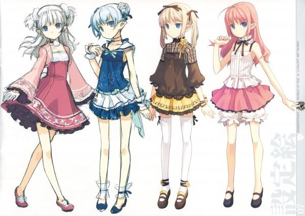 Tags: Anime, H2SO4, World Of The M, Original, Pixiv