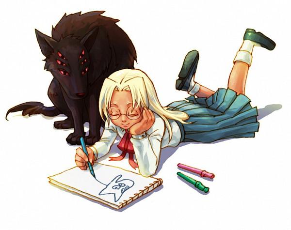 Tags: Anime, Nankakureman (Artist), GONZO (Studio), HELLSING, Baskerville (Hellsing), Integra Hellsing, Drawing (Action), Fanart