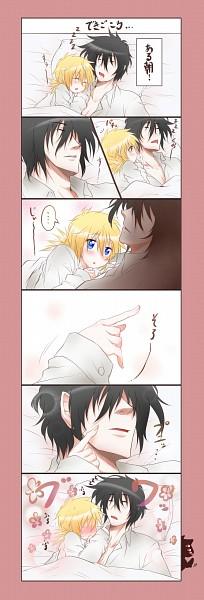 Tags: Anime, Kurobe Clock (Artist), HELLSING, Alucard (Hellsing), Seras Victoria, Pixiv, Comic