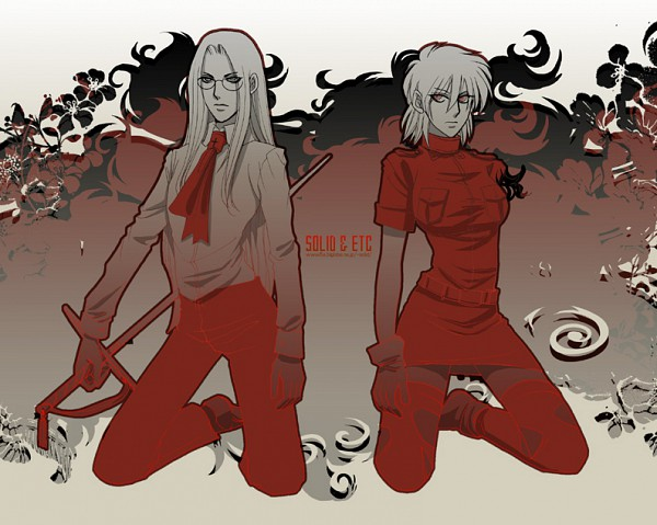 Tags: Anime, Toshimichi Yukari, Geneon Pioneer, HELLSING, Integra Hellsing, Seras Victoria