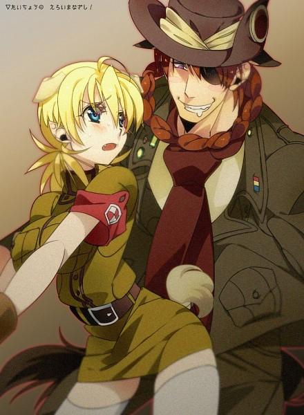 Tags: Anime, Misaka (Pixiv1366949), Geneon Pioneer, HELLSING, Pip Bernadotte, Seras Victoria