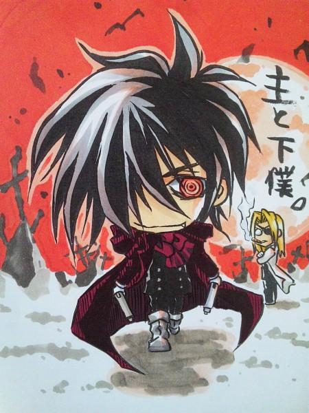 Tags: Anime, Geneon Pioneer, HELLSING, Alucard (Hellsing), Integra Hellsing