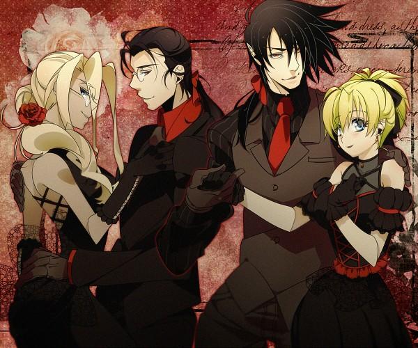 Tags: Anime, Misaka (Pixiv1366949), Geneon Pioneer, HELLSING, Seras Victoria, Integra Hellsing, Alucard (Hellsing), Walter C. Dornez