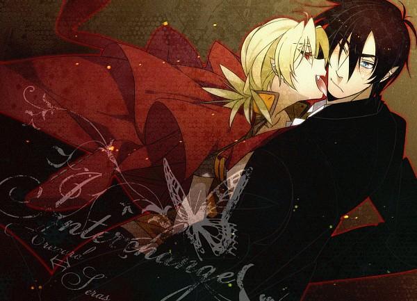 Tags: Anime, Misaka (Pixiv1366949), Geneon Pioneer, HELLSING, Seras Victoria, Alucard (Hellsing)