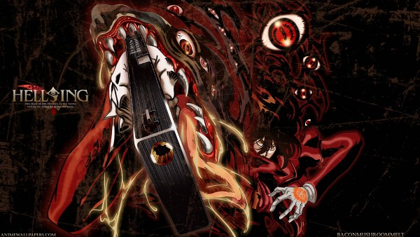 Tags: Anime, Geneon Pioneer, HELLSING, Alucard (Hellsing), Wallpaper, HD Wallpaper