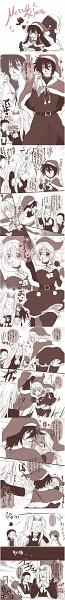 Tags: Anime, Kurobe Clock (Artist), Geneon Pioneer, HELLSING, Integra Hellsing, Pip Bernadotte, Alucard (Hellsing), Walter C. Dornez, Seras Victoria, Dracula, Draculina, Translation Request